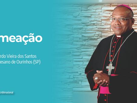 Papa nomeia Dom Eduardo Vieira dos Santos como bispo para a Diocese de Ourinhos (SP)