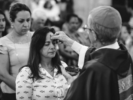 Celebrações de Quarta-Feira de Cinzas na Arquidiocese de Uberaba