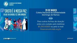 CNBB: Coleta de Solidariedade no Domingo de Ramos, gesto concreto de doação