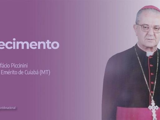 Faleceu o Arcebispo Emérito de Cuiabá (MT), Dom Bonifácio Piccinini