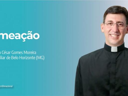 Papa Francisco nomeia Júlio César Gomes como bispo auxiliar para a Arquidiocese de BH