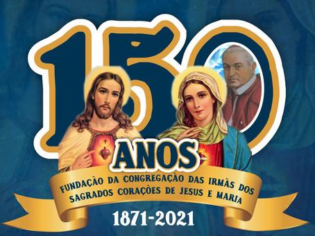 150 anos da Congregação das Irmãs dos Sagrados Corações de Jesus e Maria