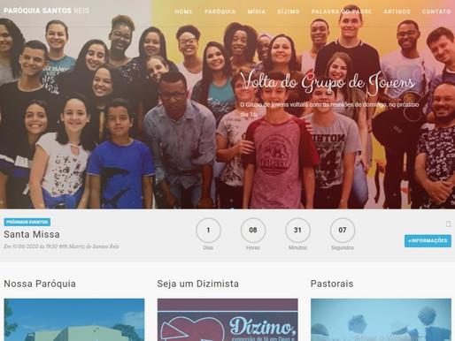Paróquia de Santos Reis, em Araxá, lança o site paroquial no mês de agosto
