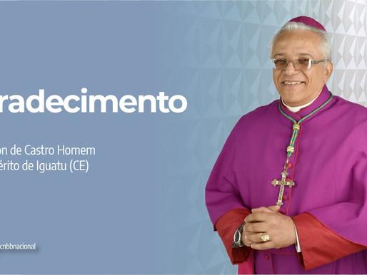 Papa Francisco aceita pedido de renúncia de Dom Edson de Castro, até então bispo de Iguatu (CE)