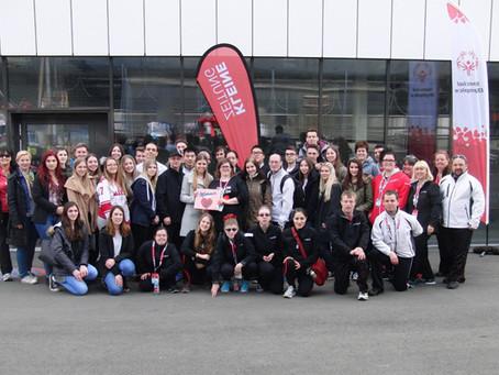 """HAK-Schüler unterstützten Teams bei """"Special Olympics"""""""