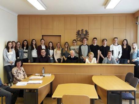 Besuch des Bezirksgerichts Oberpullendorf