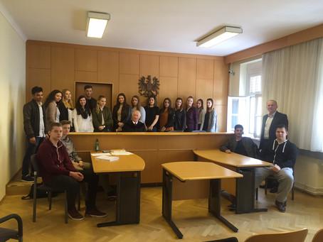 Lehrausgang: Bezirksgericht Oberpullendorf / Strafverhandlung