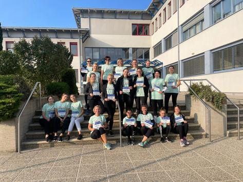 Schülerinnen und Lehrerinnen unserer Schule beim Österreichischen Frauenlauf dabei