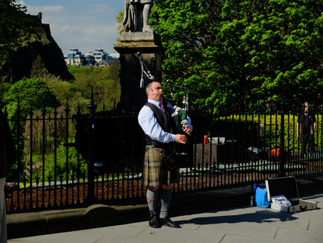 School trip to Edinburgh