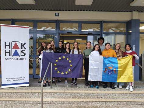 6 Schüler/innen aus Lanzarote für 2 Monate zu Gast in unserer Schule