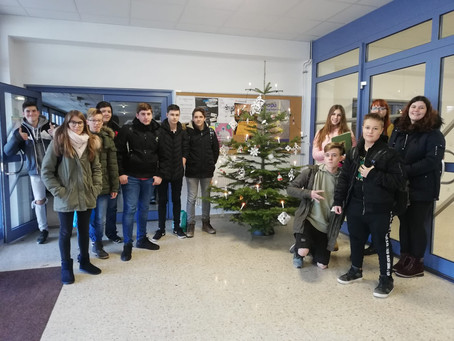 Upcycling – Weihnachtsbaum