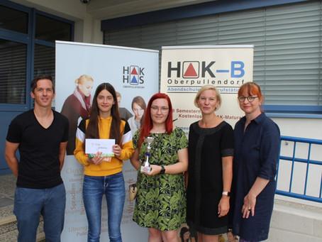 "HAK/HAS Oberpullendorf vergibt den ""Best Friend""-Award"