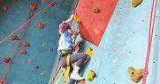 Child Rock Climbing