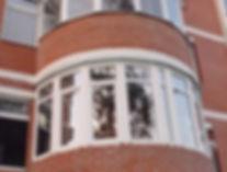 Остекление полукруглого балкона окнами ПВХ в Красноярске