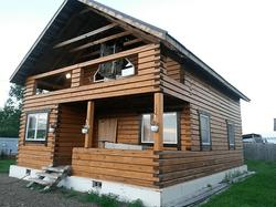 загородный дом до начала работ