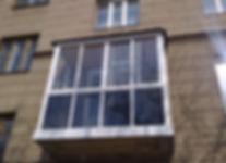 Французское остекление балконов в Красноярске