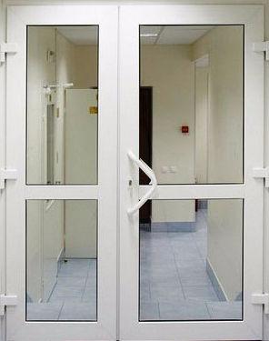 Входные двери алюминиевые и ПВХ в Красноярске для предприятий и офисных организаций
