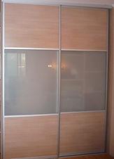 Двери-купе на заказ для встроенных шкафов-купе в Красноярске