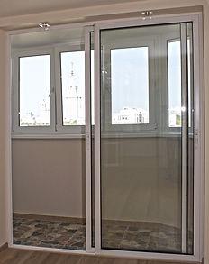 межкомнатные алюминиевые раздвижные двери в Красноярске