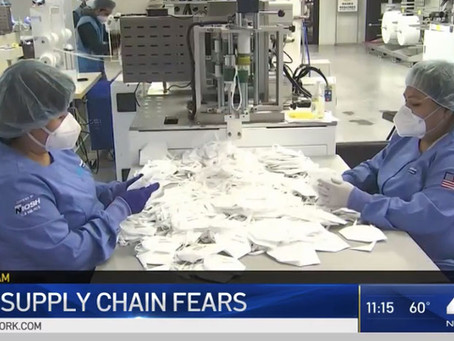 I-Team: America PPE Makers Warn of Chinese Mask 'Dumping'