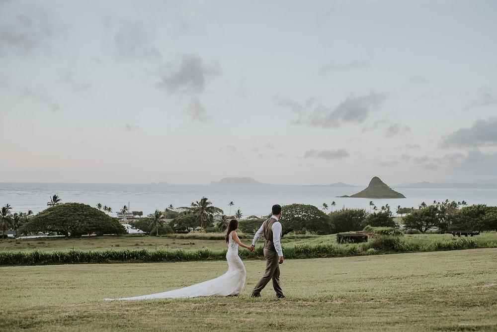 Kualoa ranch hawaii wedding photographer