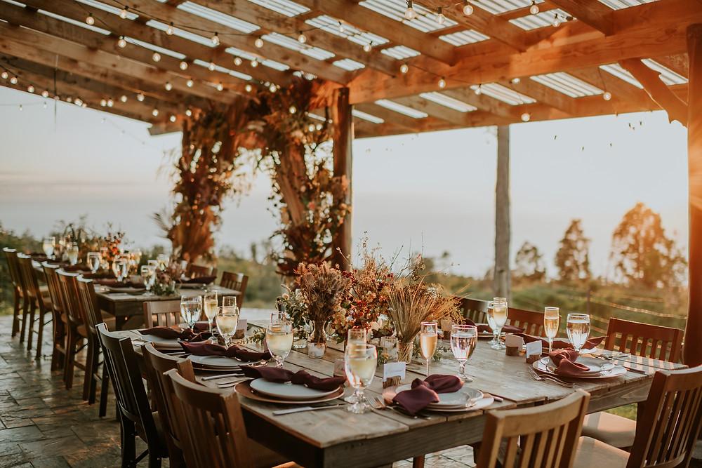 boho hawaii wedding