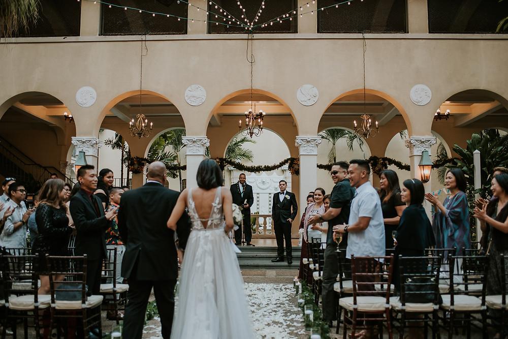 cafe Julia wedding photographer Honolulu hawaii