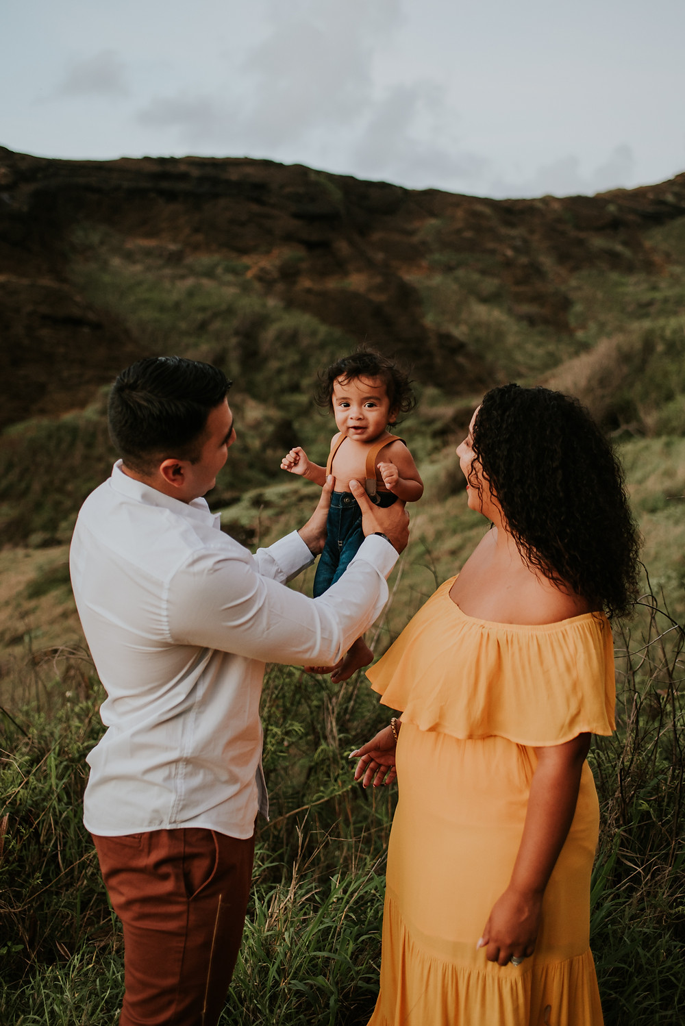 fall family session hawaii