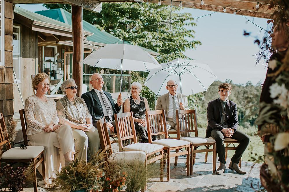 Sunshower farm wedding