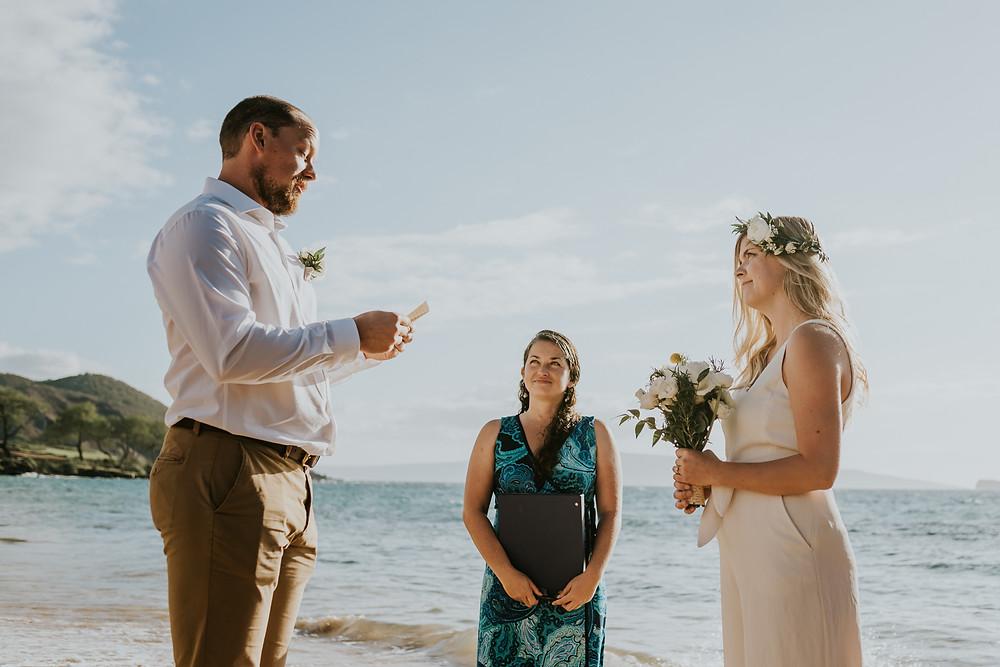 maui hawaii beach wedding photographer