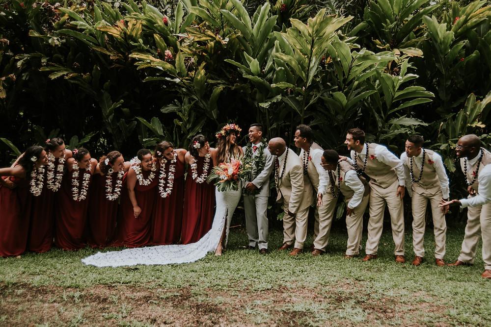 Oahu Hawaii wedding photographer