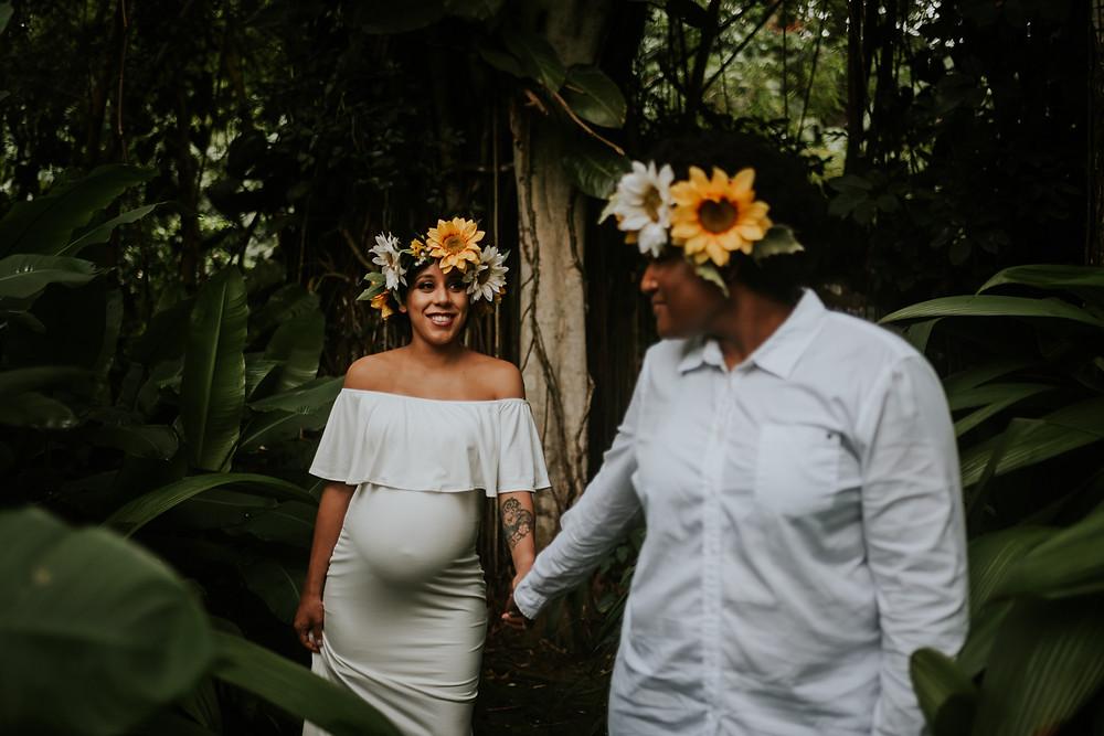 honolulu hawaii lifestyle maternity session