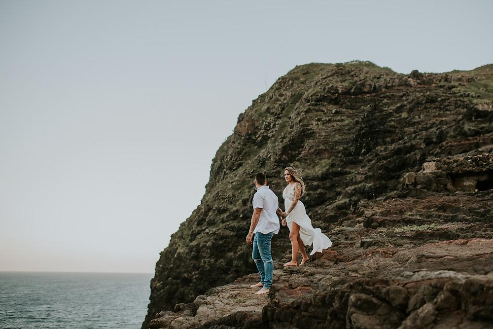 hawaii engagement session photographer