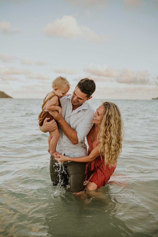 oahu hawaii family photoshoot