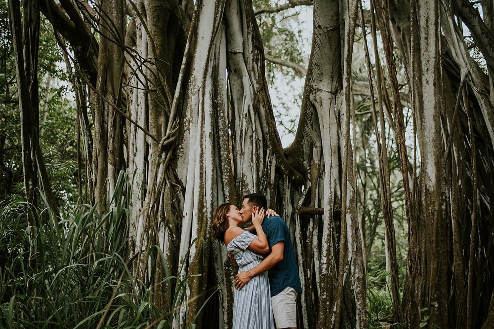 Oahu Hawaii couples session photographer