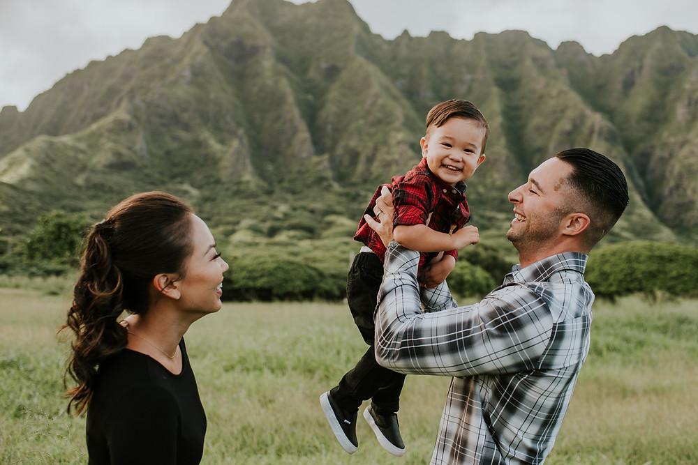 Oahu, HI family session photographer
