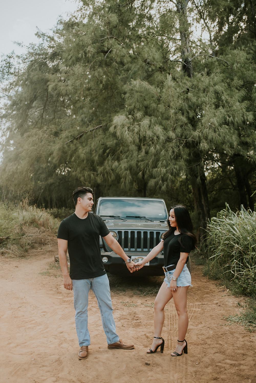 kauai couples photoshoot