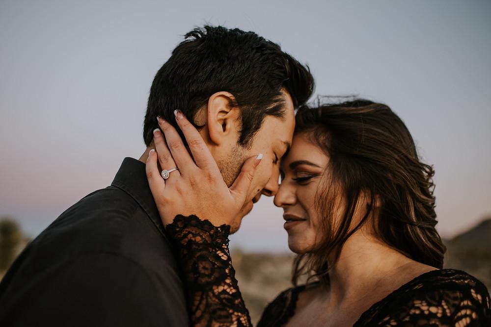 Joshua Tree, CA engagement session photographer