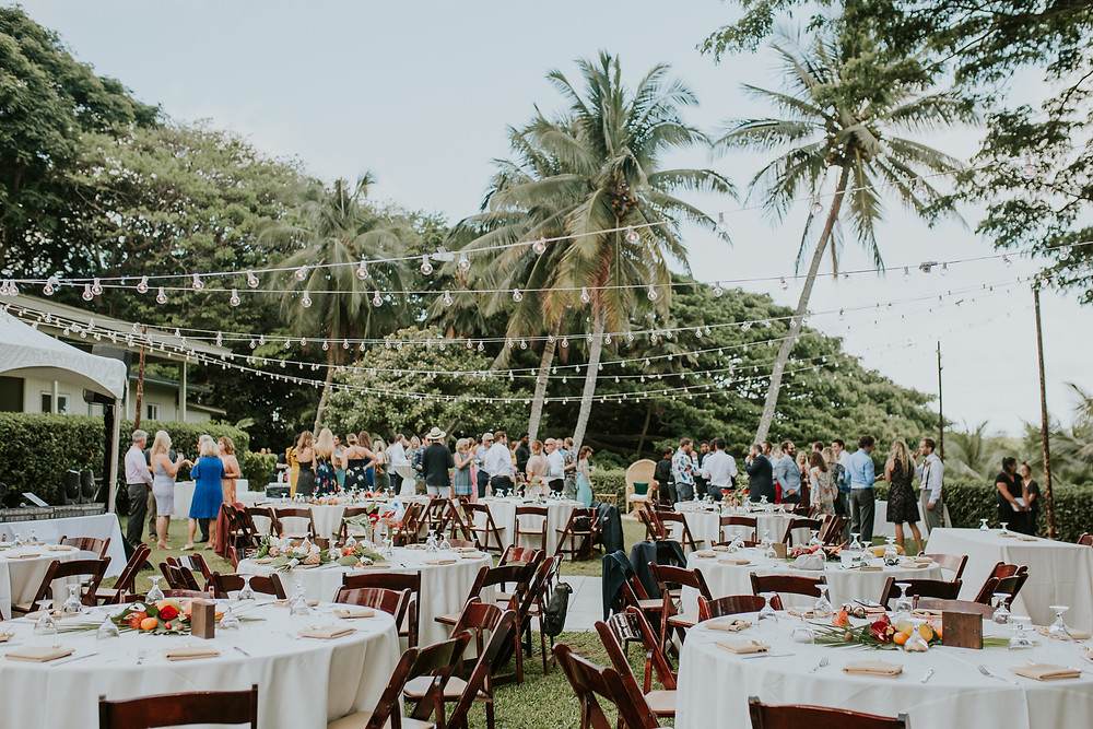 Hawaii wedding photographer Kualoa ranch