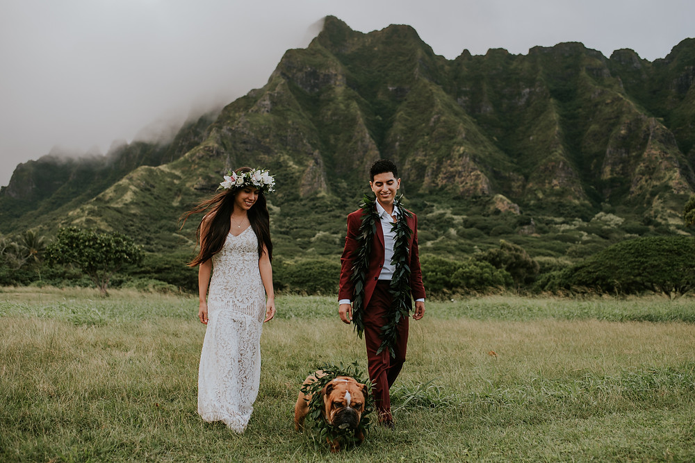 kualoa ranch wedding oahu