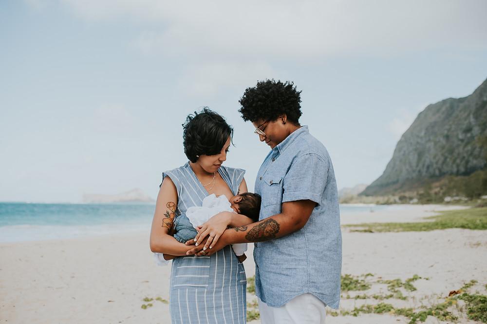 beach family photography oahu