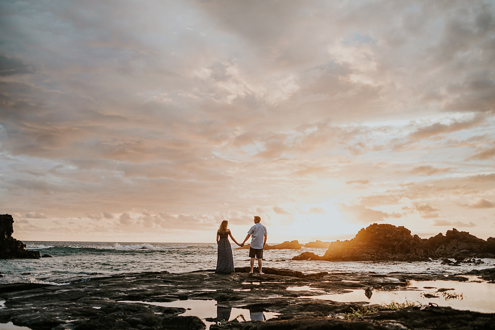 hawaii adventurous elopement photographer