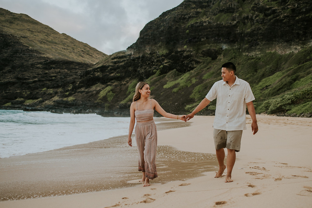 hawaii couples session