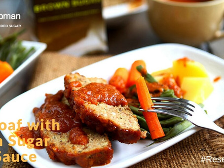 [Resep] Meatloaf with Brown Sugar BBQ Sauce