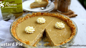 Brown Sugar Custard Pie