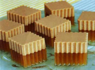 Brown sugar puding santan