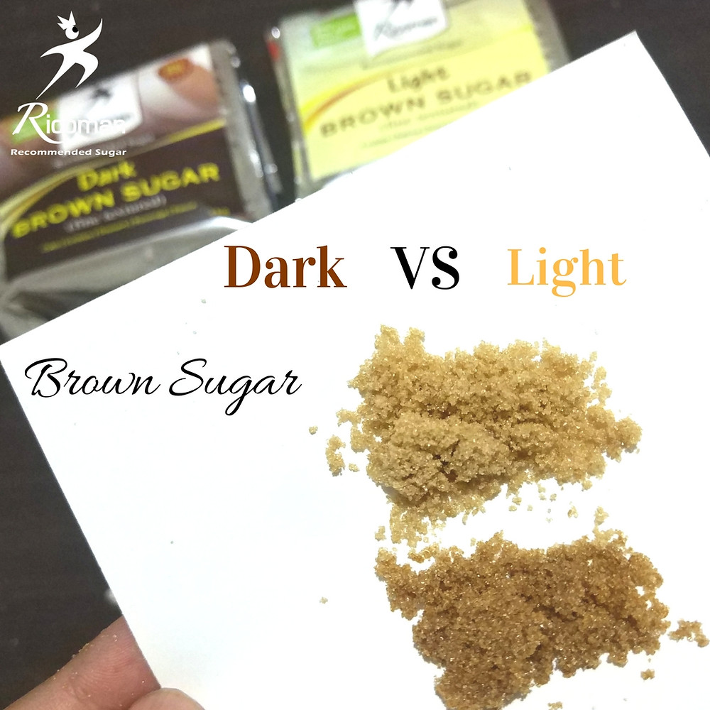 perbedaan dark & light brown sugar
