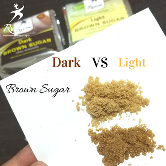 [TIPS] Perbedaan dark & light brown sugar