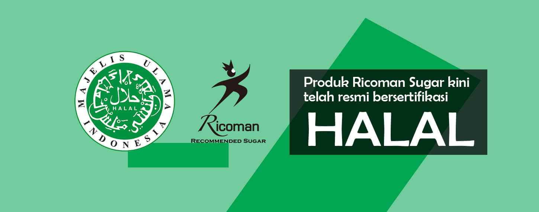 Ricoman Sugar Halal