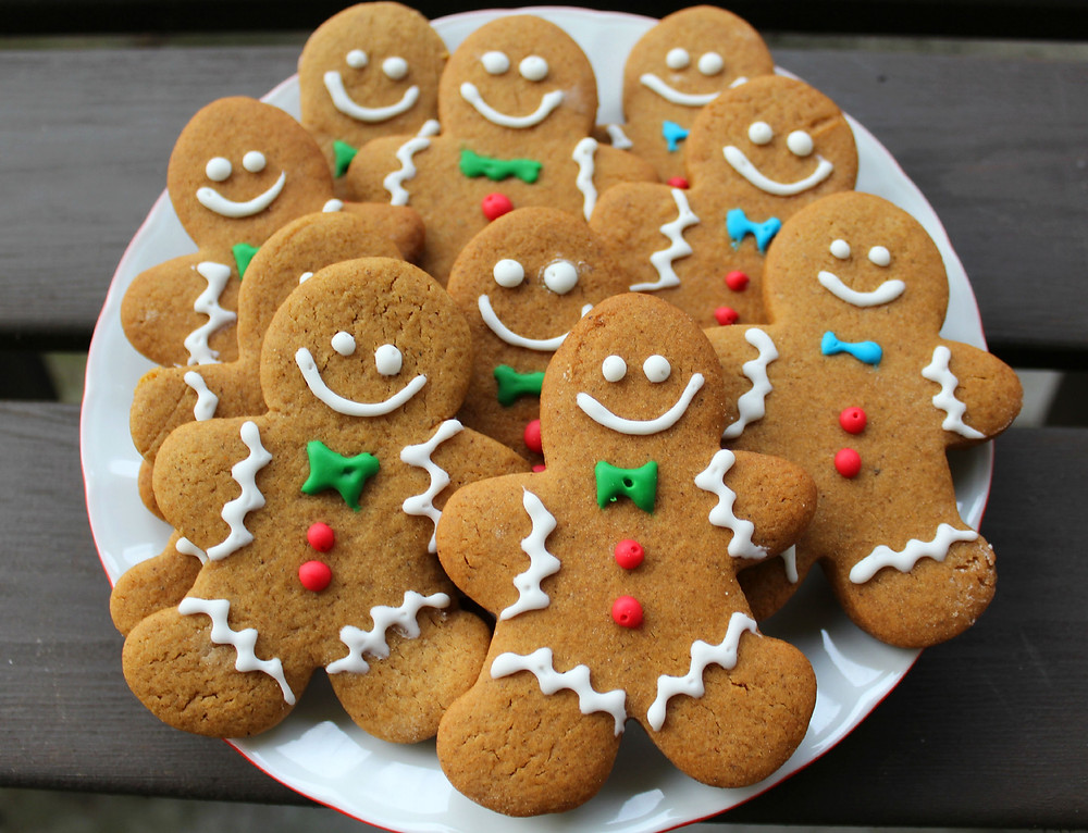 Resep gingerbread cookies